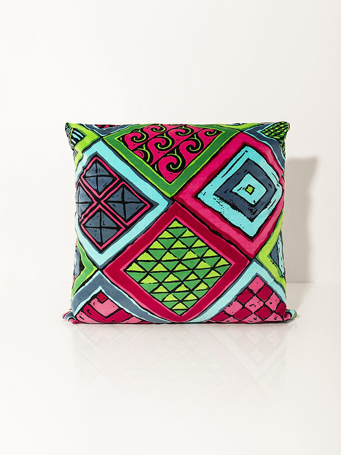 Pillow Velvet Rombi Macro III