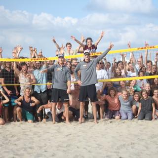 Clinic beachvolleybal