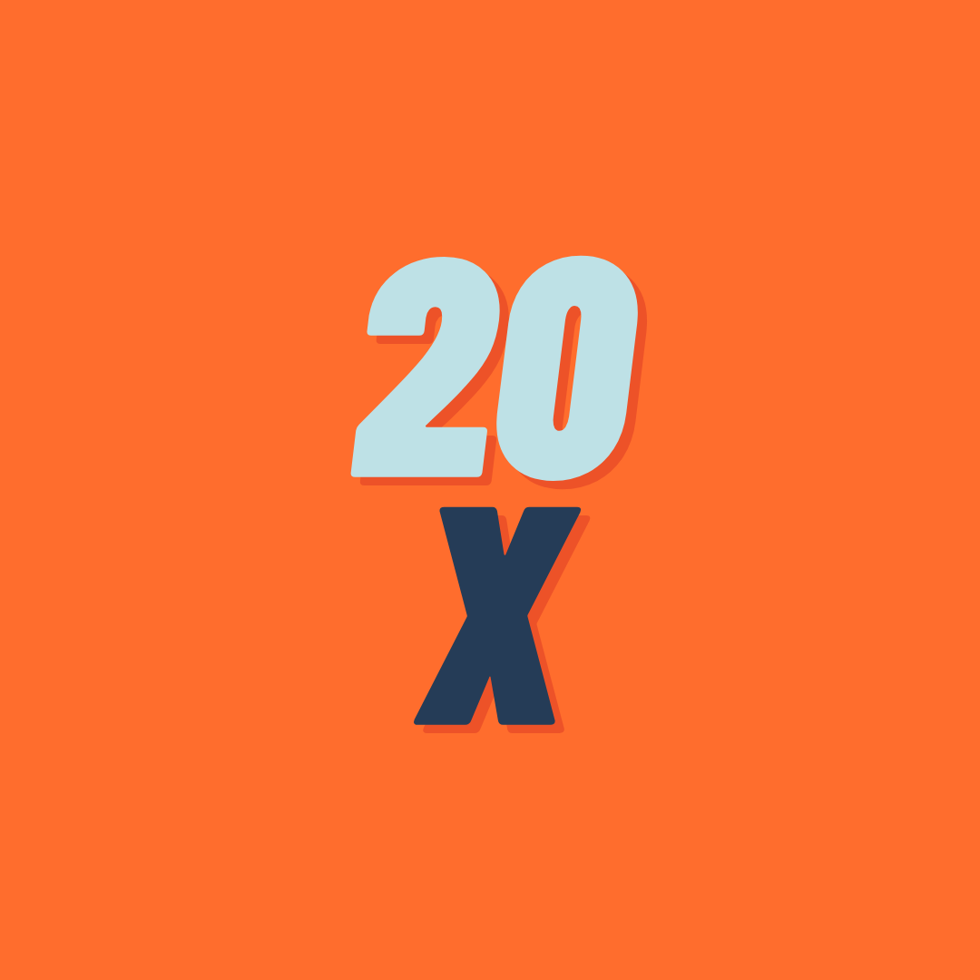 Package: 20x