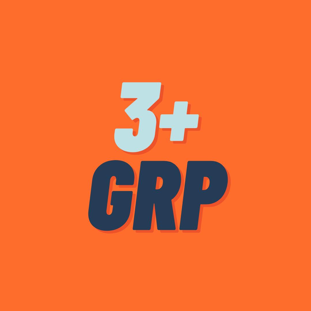 GT | 3p +