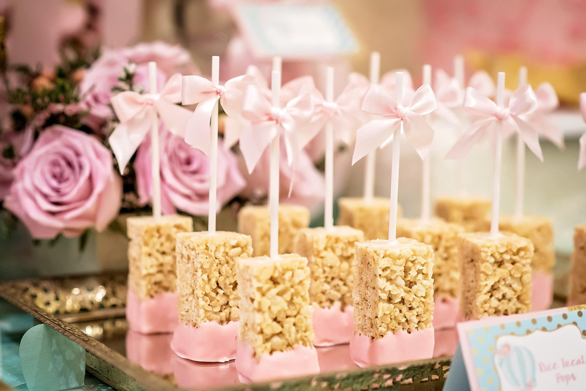 Rice Treat Pops