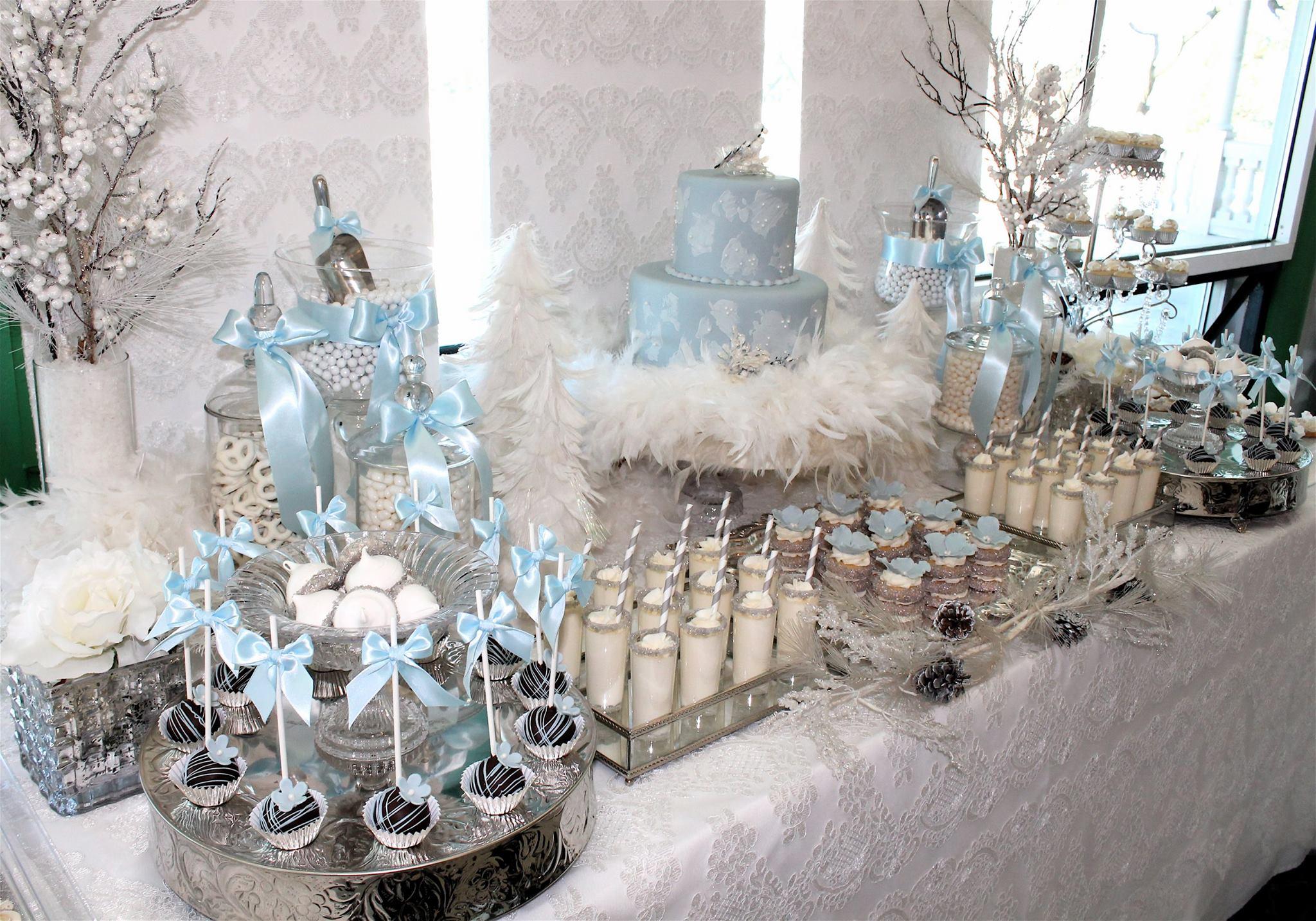 Icy Winter Wedding