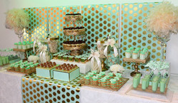 Mint & Gold Wedding