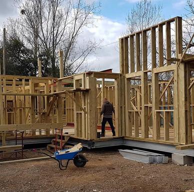 New build progress coming on beautifully