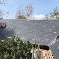 New Spanish slate for the new build #mur