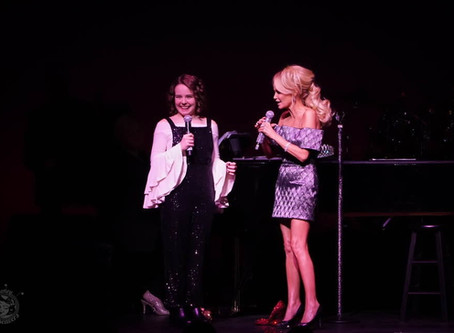 Designing Tatum's outfit for Kristin Chenoweth's For the Girls on Broadway