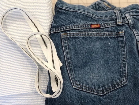 Mini Denim Backpack to Remember