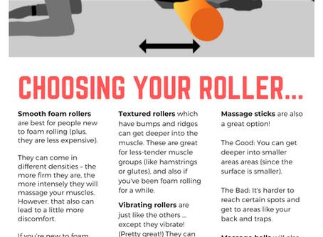 Foam Rolling Guide