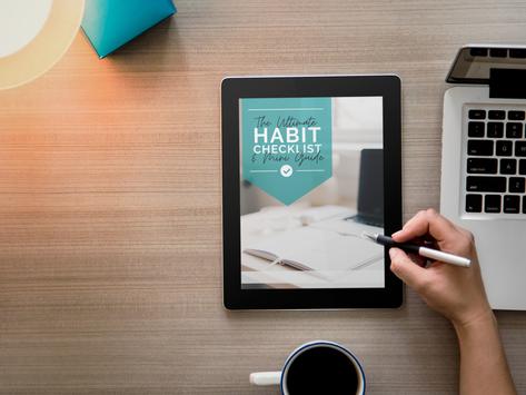 The Ultimate Habits Checklist & Mini Guide