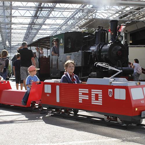 40 Jahre Baumschulbahn, Schinznach AG