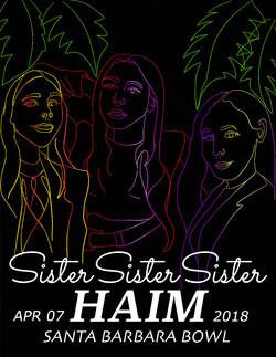 Haim Sister Sister Sister Tour