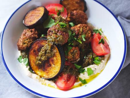 Falafel & Houmous – Chimichurri Recipe