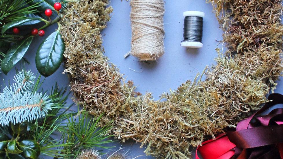 DIY Festive Wreath Kit