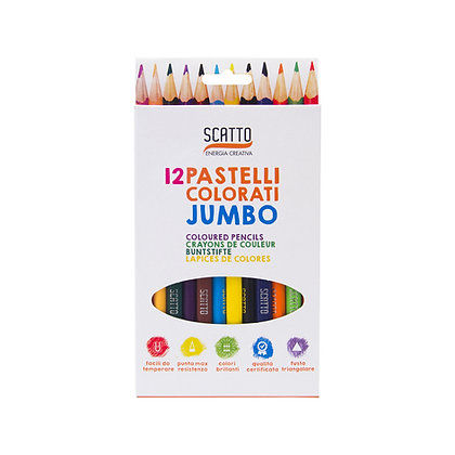 12 Pastelli Jumbo