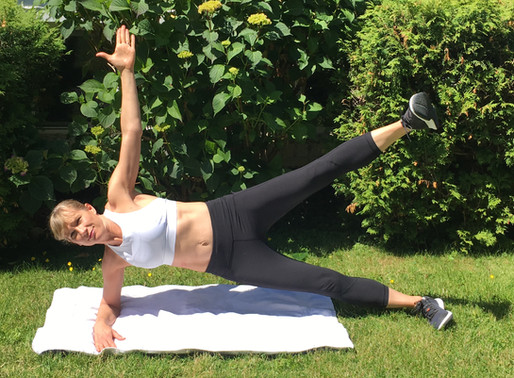 1-minute fitness tip: side planks