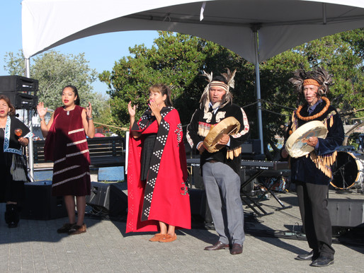 Inaugural Indigenous Feast at Harmony Arts Festival: oolichan, bannock, bison, and other traditional