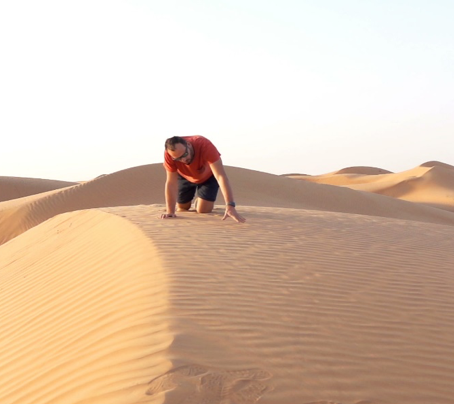 Praying in a Spiritual Desert