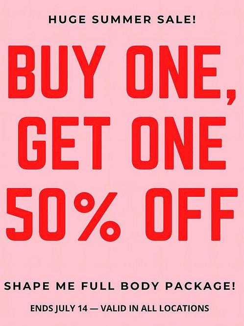Shape me full body package!