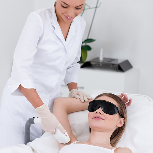 Laser Hair removal Chin, sideburns, mustache