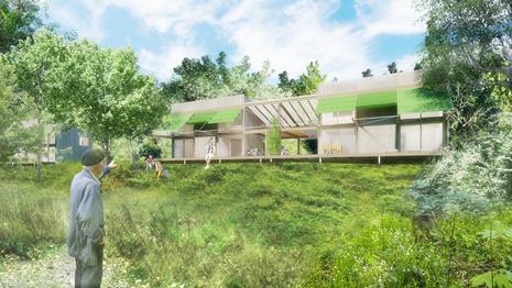 Programme : Construction de 4 logements intermédiaires en habitat participatif Lieu : Vaudry (14) Livraison : Juillet 2018 Maître d'ouvrage : NC Surface : 250 m² Prix : NC  #OSSATUREBOIS #ECOCONCEPTION #HABITATPARTICIPATIF #MATERIAUXBIOSOURCES #RESILIENCE #ZONEINONDABLE #REMMPLOI