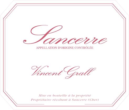 VINCENT GRALL Sancerre rosé 2018 Loire, France (rosé)