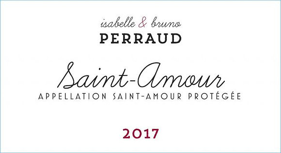 MAISON PERRAUD Saint Amour 2018 Beaujolais, France (red wine)