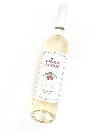 LA FERME ROUGE La Petite Ferme Blanc 2019 Zaer, Morocco (white wine)
