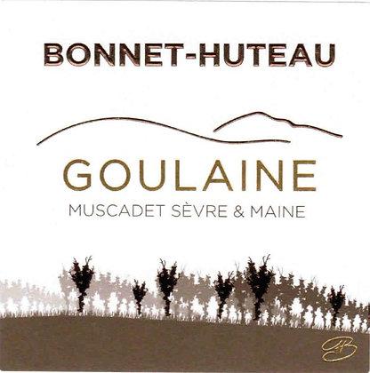 """DOMAINE BONNET-HUTEAU Muscadet """"Goulaine"""" 2015 Loire, France (white)"""