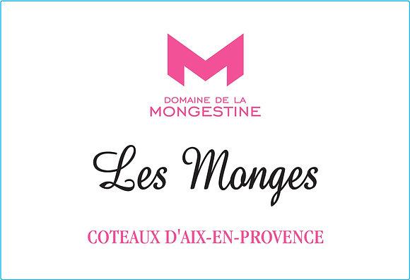 DOMAINE DE LA MONGESTINE Les Monges Rose 2018 Coteaux d'Aix-en-Provence