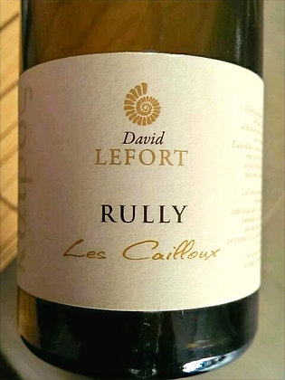 DOMAINE DAVID LEFORT Rully Blanc Les Cailloux 2015 Burgundy, France (white wine)
