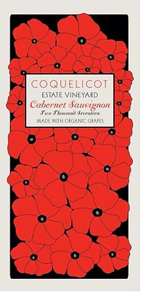 COQUELICOT ESTATE Cabernet Sauvignon 2017 Santa Ynez, CA (red)
