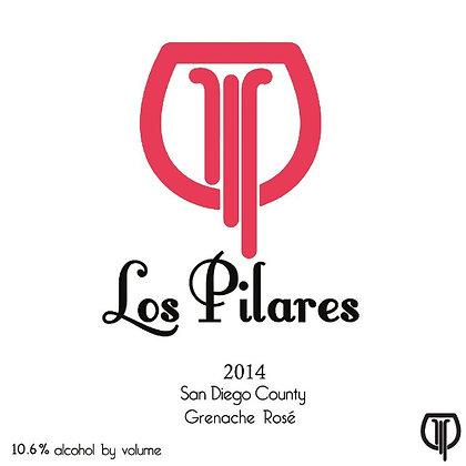 LOS PILARES Rose 2014 San Diego, California (rosé wine)