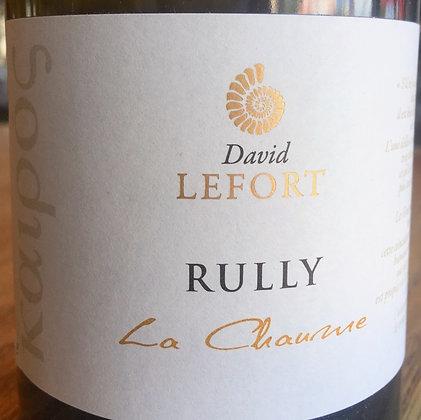 DOMAINE DAVID LEFORT Rully Blanc La Chaume 2016 Burgundy, France (white wine)