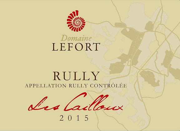 DOMAINE DAVID LEFORT Rully Rouge Les Cailloux 2014 Burgundy, France (red wine)