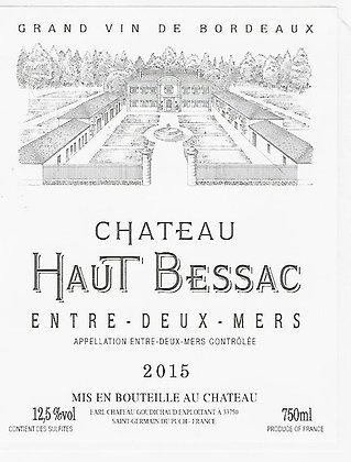 CHATEAU HAUT BESSAC Entre Deux Mers 2017 Bordeaux, France (white)