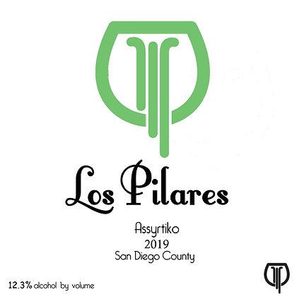 LOS PILARES Assyrtiko 2019 (orange wine)
