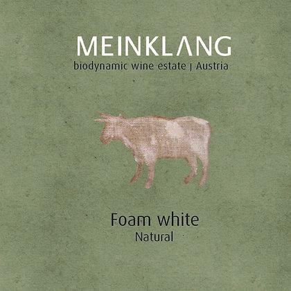 MEINKLANG Foam White Petillant Naturel 2019 (sparkling orange wine)