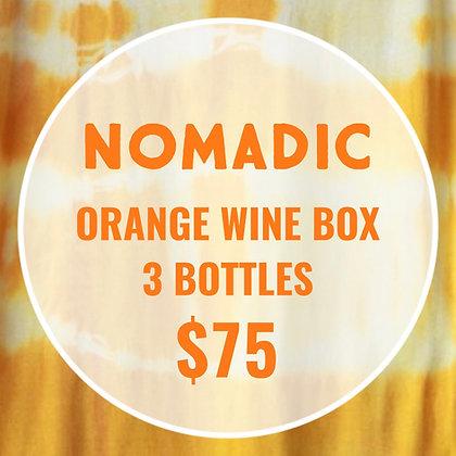 Orange Wine Box