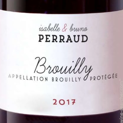 MAISON PERRAUD Brouilly 2017 Beaujolais, France (red wine)