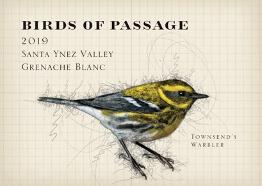 BIRDS OF PASSAGE Grenache Blanc 2019 Santa Ynez Valley, CA (skin contact))