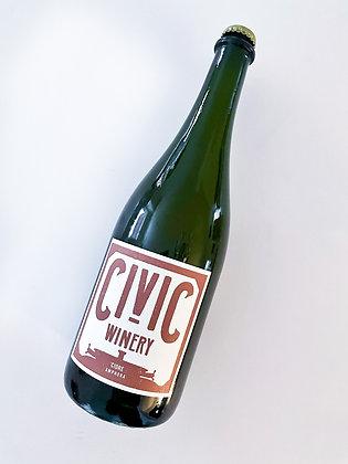 CIVIC  WINERY Cidre 2020 Eugene, Oregon (sparkling cider)