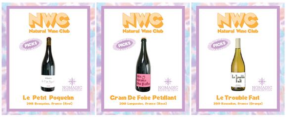 NWC --NATURALWINECLUB X WEARENOMADIC--