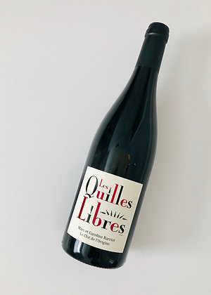 MARC BARRIOT Les Quilles Libres Red 2016 Roussillon, France (red wine)