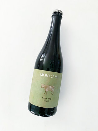 MEINKLANG Foam Red Petillant Naturel 2019 Burgenland, Austria (sparkling wine)