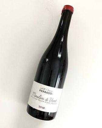 MAISON PERRAUD Moulin a Vent 2018 Beaujolais, France (red wine)