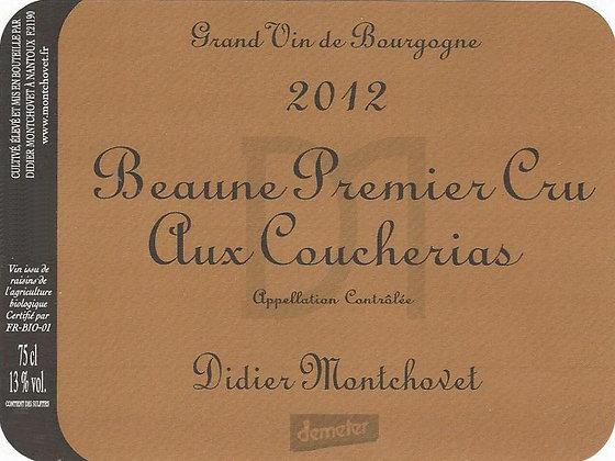 """DIDIER MONTCHOVET Beaune 1er Cru """"Aux Coucherias"""" 2012 Burgundy (red wine)"""