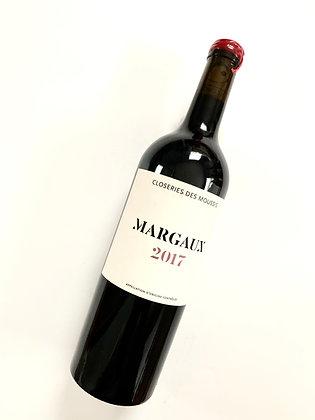 CLOSERIE DES MOUSSIS Margaux 2017 Bordeaux, France (red wine)