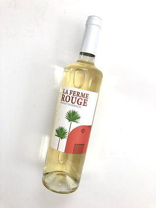 LA FERME ROUGE 'Terre Blanche' 2018 Zaër, Morocco (white wine)