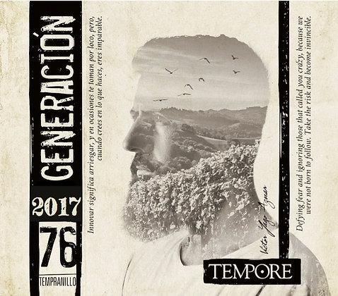 BODEGAS TEMPORE Tempore Generacion 76 2017