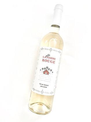 LA FERME ROUGE La Petite Ferme Blanc 2020 Zaer, Morocco (white wine)